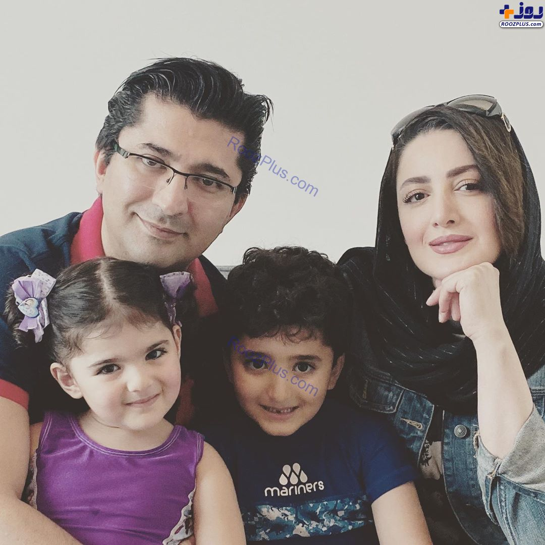 شیلا خداداد شاد و سرحال همراه خانوادهاش +عکس