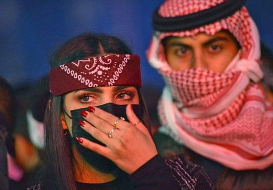 زیبارویان جهان در جشنواره موسیقی عربستان+عکس