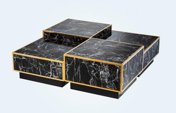کاربرد سنگ مرمر در دکوراسیون + ۳۳ میز جلومبلی