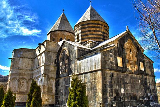 بناهای تاریخی دیدنی مسیحیها