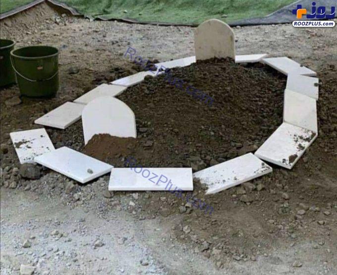 قبر سلطان قابوس بن سعید پادشاه فقید عمان+عکس