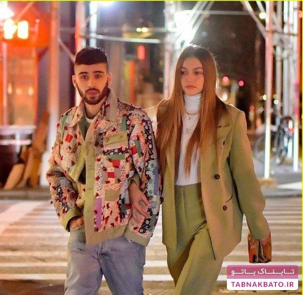 مدل معروف در کنار نامزد سابقش