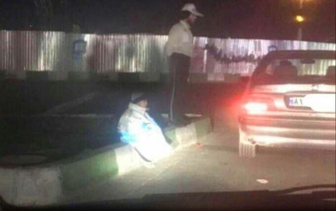 حرکت زیبای سرباز ایرانی +عکس