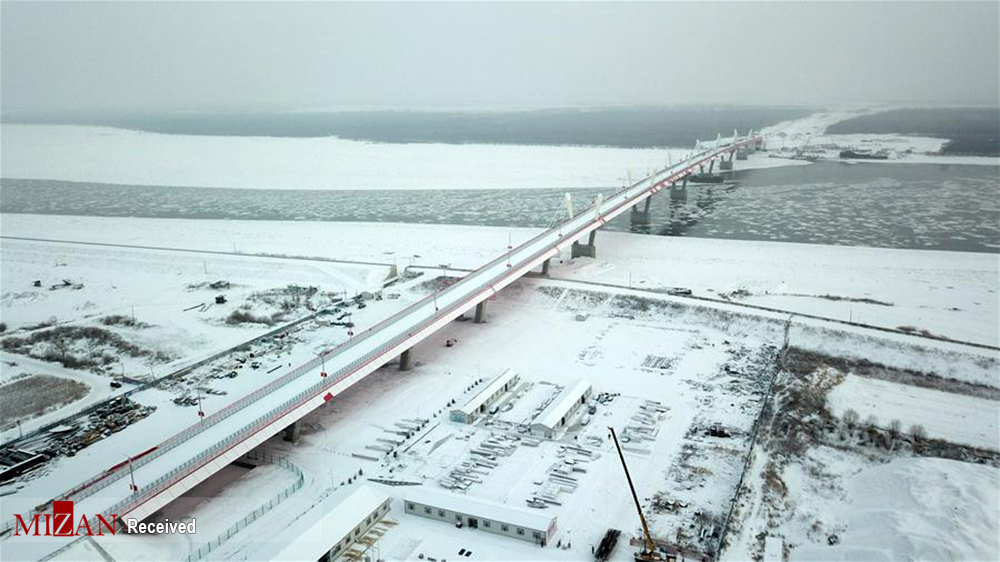 ساخت پل بزرگراهی