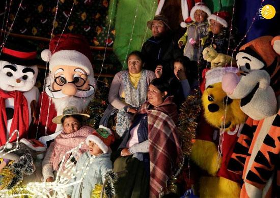 استقبال مسیحیان سراسر جهان از کریسمس+عکس