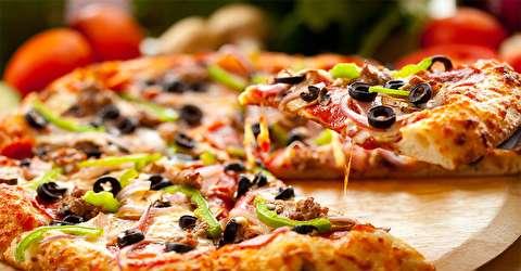 فروش پیتزای کرم در چین
