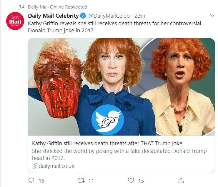 شوخی با ترامپ برای کمدین زن آمریکایی دردسر ساز شد +عکس