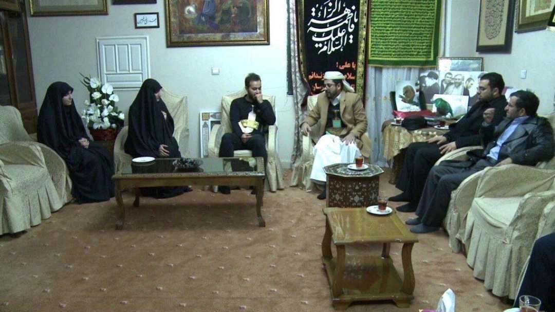 هدیه جالب سفیر یمن در تهران به پسر سردار سلیمانی + عکس