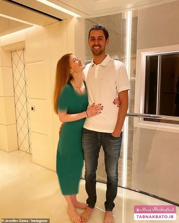 ازدواج دختر بیلگیتس با سوارکار مشهور مصری