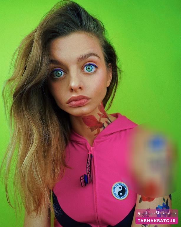 چشمان دختر اوکراینی، سوژه کاربران فضایمجازی!