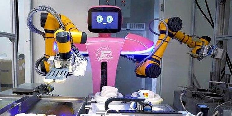 نخستین رستوران کاملا رباتیک و مبتنی بر هوش مصنوعی + عکس