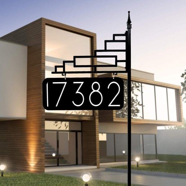 ۲۶ مدل پلاک خلاقانه و منحصر به فرد برای خانه