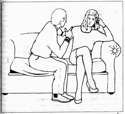 به زبان بدن همسرتان توجه کنید