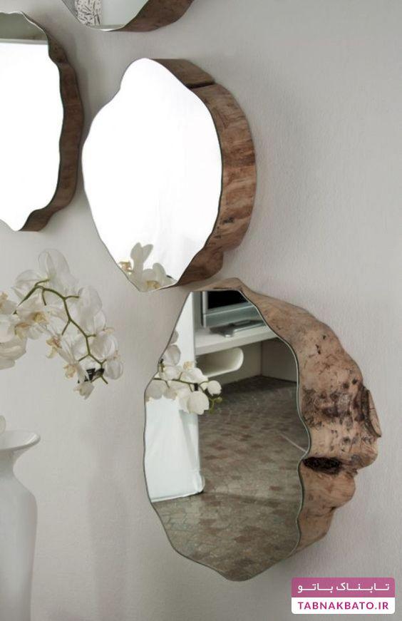 مدلهای زیبا و متفاوت قاب آینهی چوبی