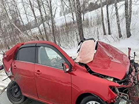 سبقت مرگبار راننده زن در جادهای یخ زده