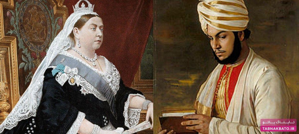رابطه نزدیک ملکه ویکتوریا و خدمتکار هندی که باعث خجالت خانواده سلطنتی بود!