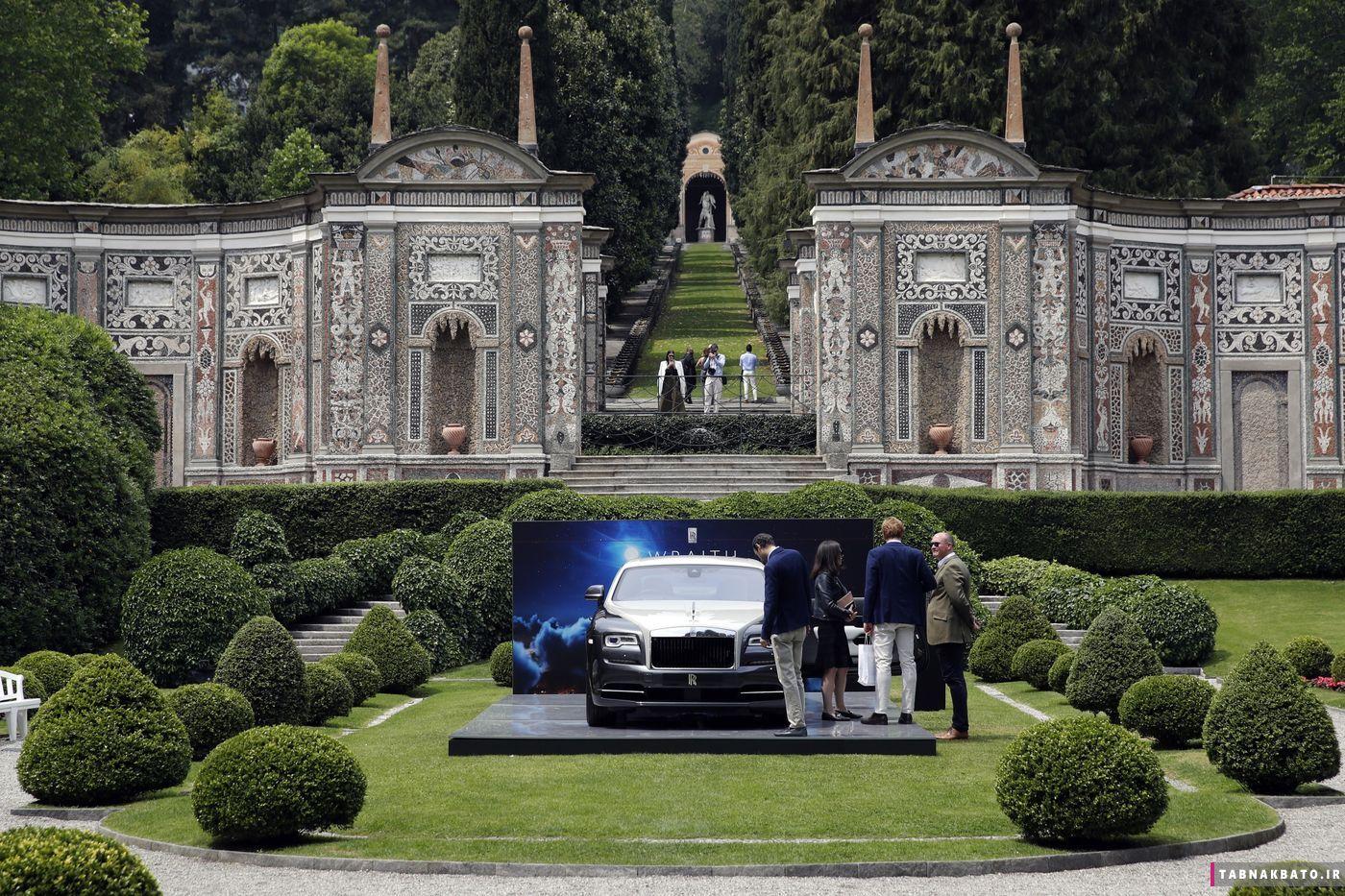 خاصترین حراجی اتومبیل در کومو ایتالیا