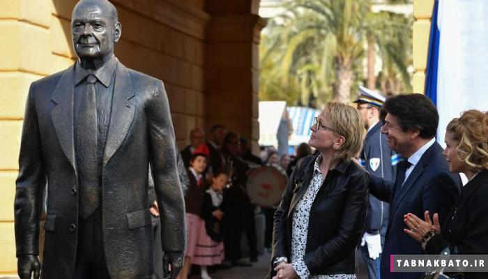 تخریب مجسمه سیاستمدار محبوب در نیس فرانسه
