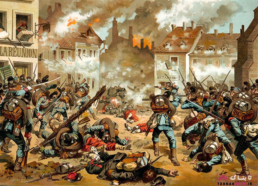 محاصره پاریس و خوردن اسب و قورباغه