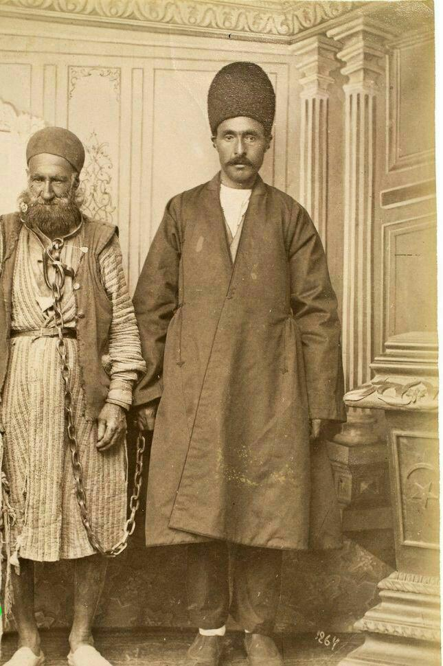 دزد و پلیس در دوره قاجار +عکس