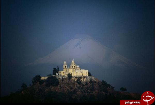 چولولا بزرگترین هرم دنیا در مکزیک سوژه شد +عکس