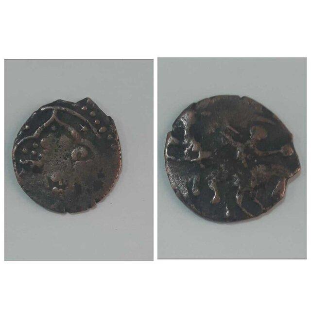 کشف یک سکه با نقش بازی چوگان+عکس