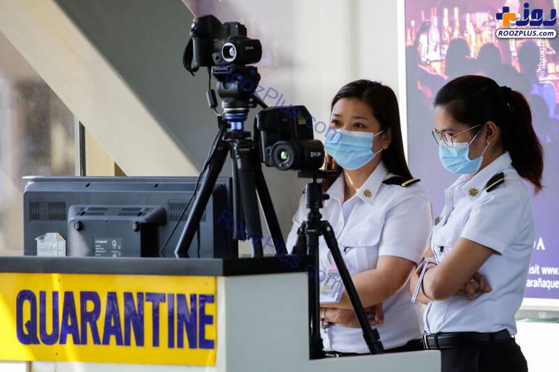 دوربین حرارتی برای مقابله با شیوع ویروس کرونا+تصاویر
