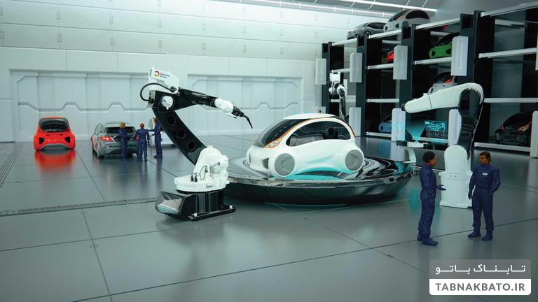 کارگاههای تعمیر خودرو در سال ۲۰۵۰ چه شکلی اند؟!