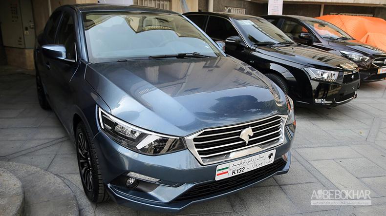 اولین تصویر از محصول جدید ایران خودرو