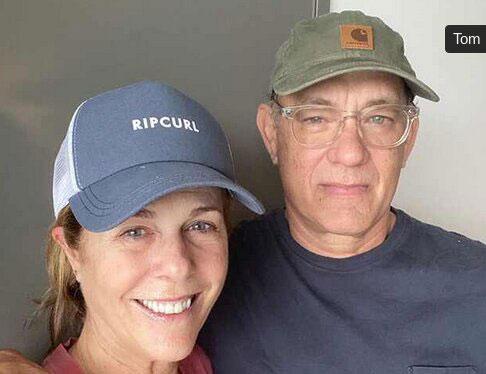 نخستین تصویر از تام هنکس و همسرش در قرنطینه +عکس