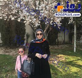 «آزاده نامداری» و دخترش بعد از 16 روز قرنطینه +عکس