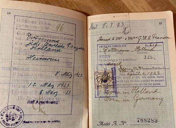 تصاویری از گذرنامههای اروپایی در 100 سال پیش