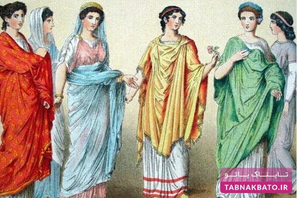 دانستنیهای جالب از لباس در روم باستان