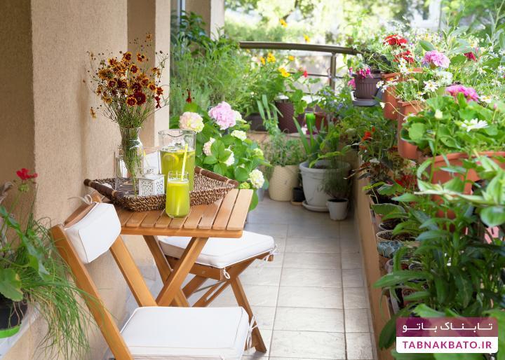رسیدگی به باغچه و گلدانها در بهار