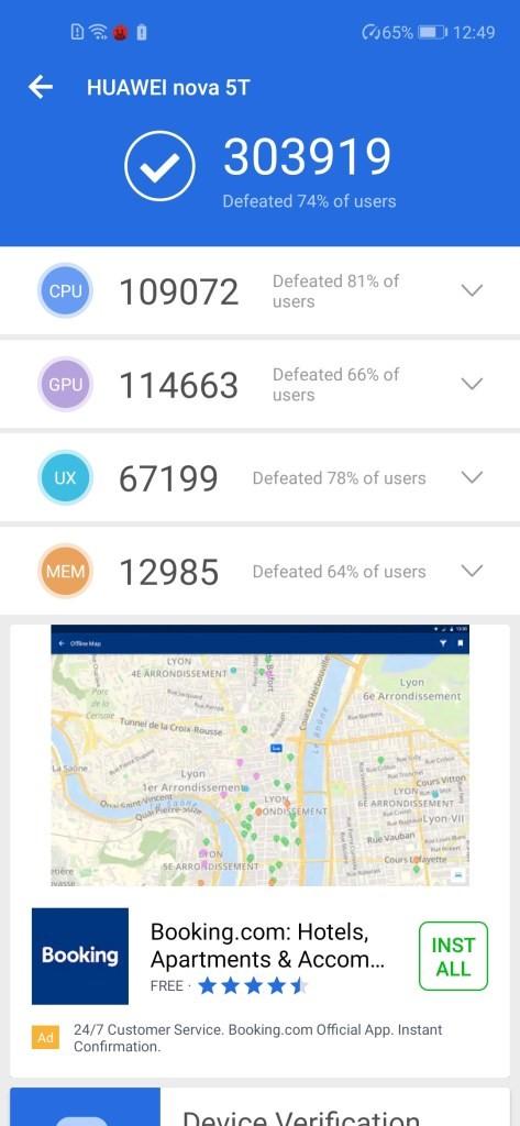 سربلندی گوشی Huawei nova 5T در چالش بازیهای سنگین