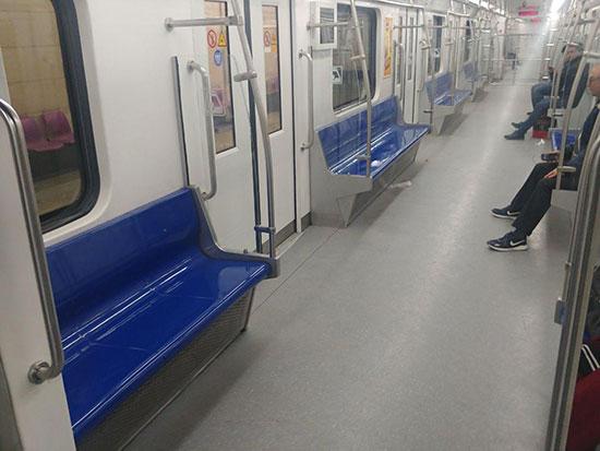 متروی تهران پس از شیوع کرونا در پایتخت+عکس
