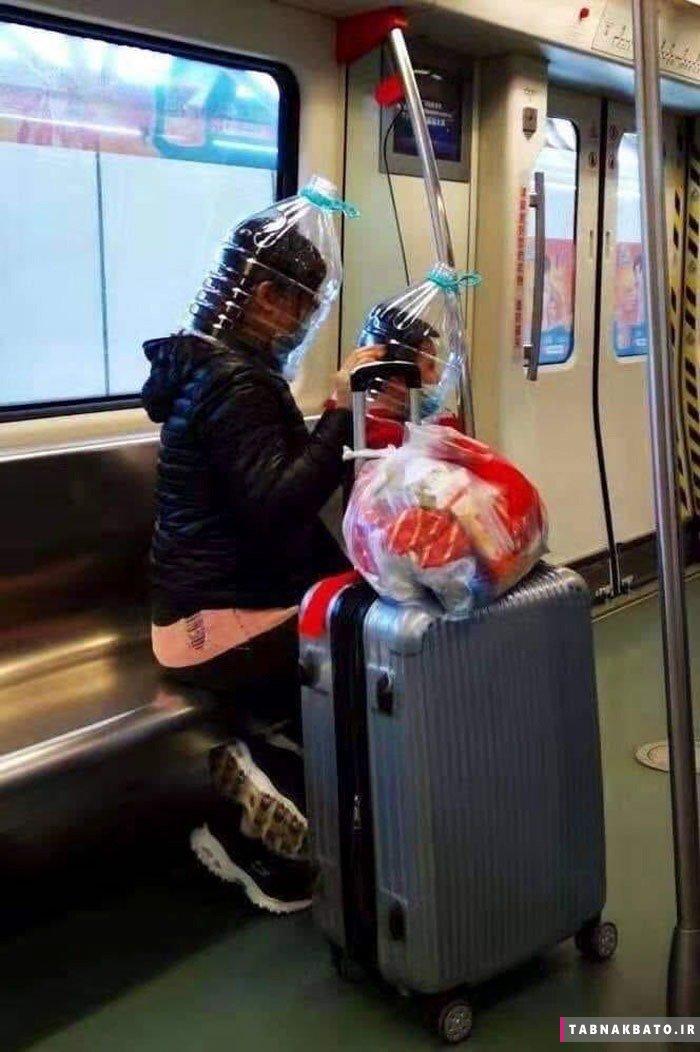 روشهای خلاقانه چینی ها برای جبران کمبود ماسک کرونا