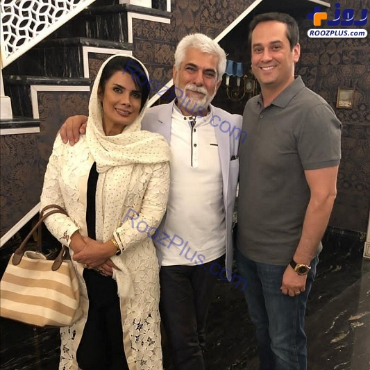 تیپ متفاوت حسین پاکدل و همسرش؛عاطفه رضوی+عکس