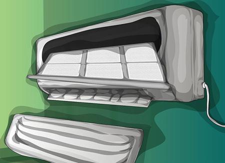 مراحل روش تمیز کردن کولر گازی در منزل