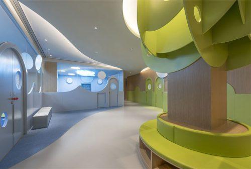 طراحی داخلی کودکستان برای پرورش خلاقیت در کودکان