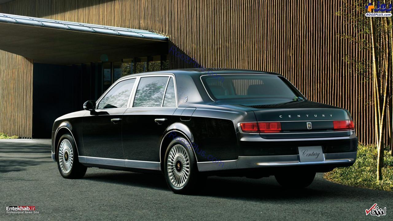 ماشین جدید امپراتور ژاپن +عکس