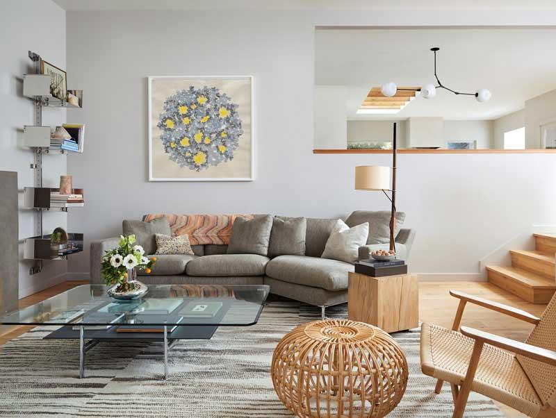 طراحی و دکوراسیون قبل و بعد از بازسازی آپارتمانی مدرن