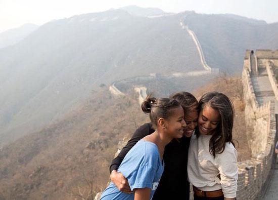 پیام تبریک اوباما به همسرش به مناسبت روز مادر+عکس