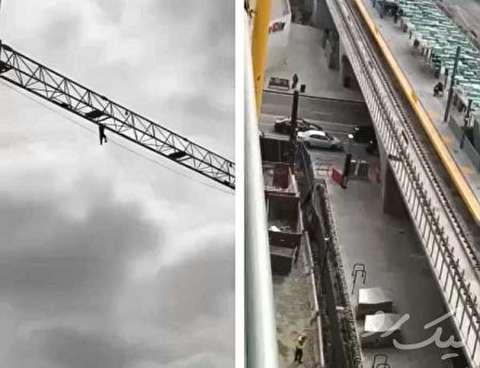 سقوط بخاطر یک سلفی در مکزیک
