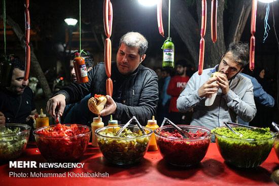 کوچه فلافلیها در شبهای رمضان +عکس