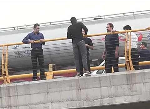 جلوگیری از خودکشی مرد جوان در مشهد