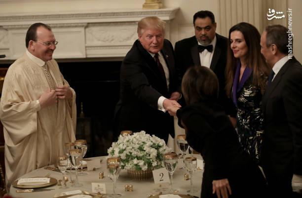 مراسم افطار در کاخ سفید+عکس