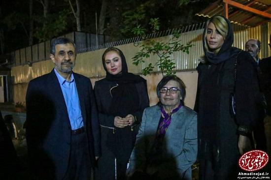 رضا رویگری و پورعرب در مراسم افطاری احمدینژاد +عکس