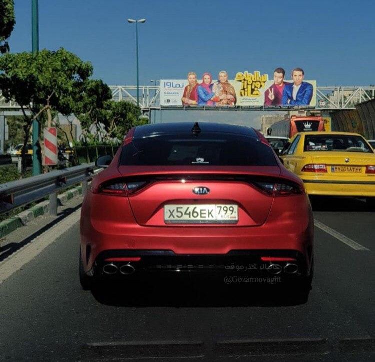 خودروی اسپرت روسی در ایران + عکس
