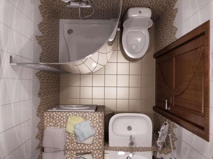 اشتباهات در طراحی چیدمان حمام و دستشویی
